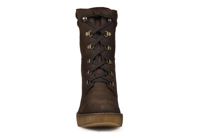 Bottines et boots Jonak Galina Marron vue portées chaussures