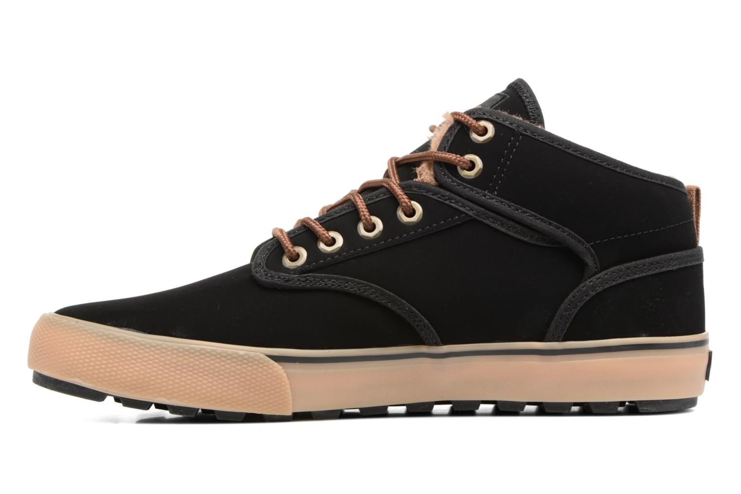 Sport shoes Globe Motley mid Black front view