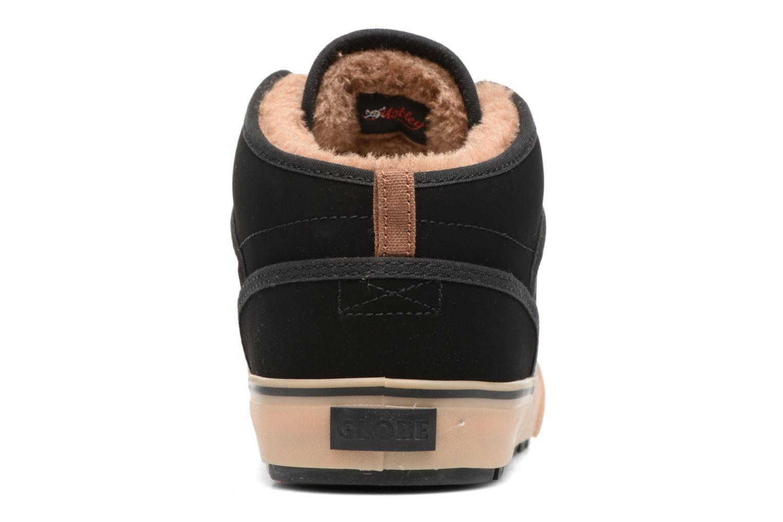Chaussures de sport Globe Motley mid Noir vue droite
