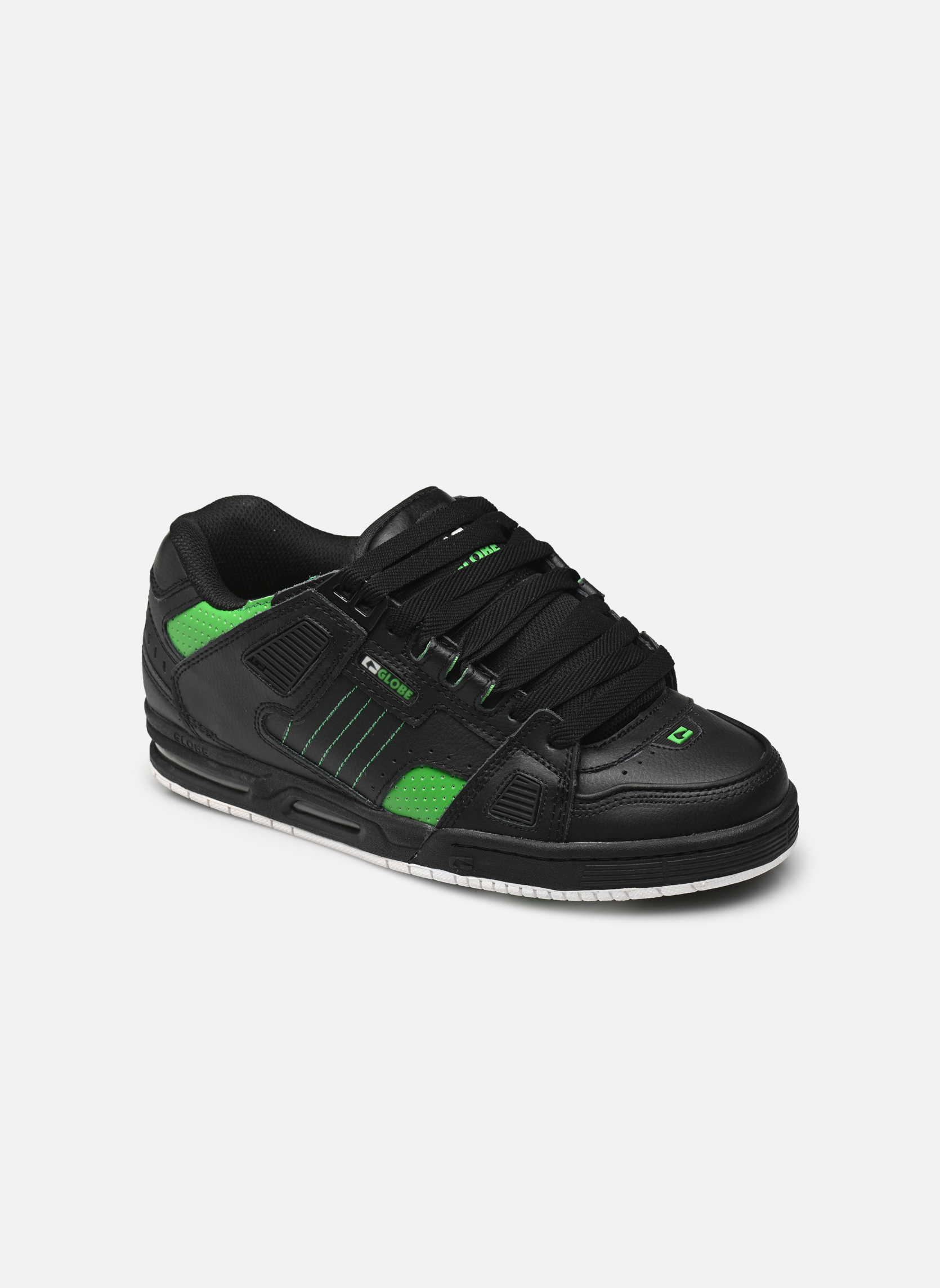 Black moto green