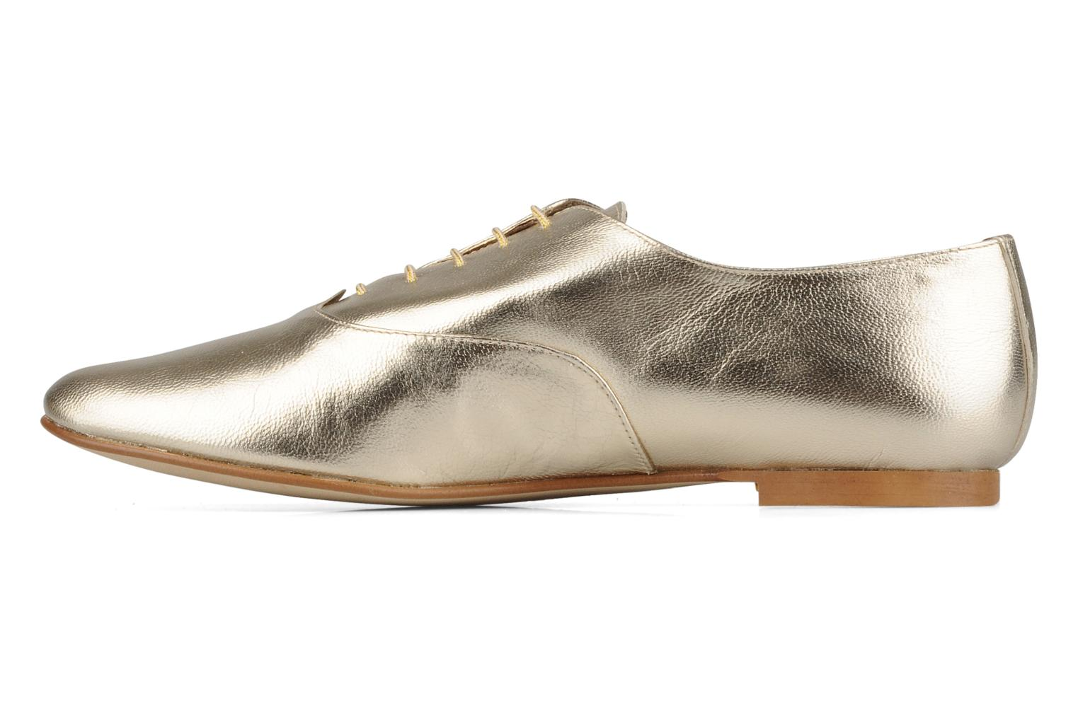 Lace-up shoes Emma Go Juddy Bronze and Gold front view