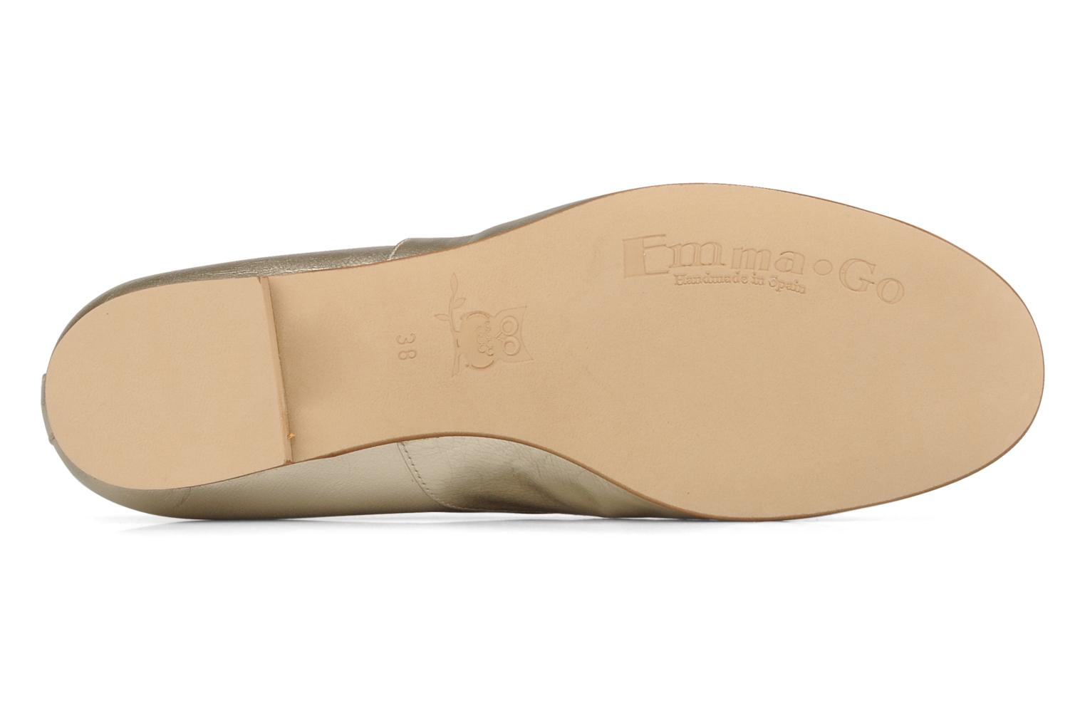 Lace-up shoes Emma Go Juddy Bronze and Gold view from above