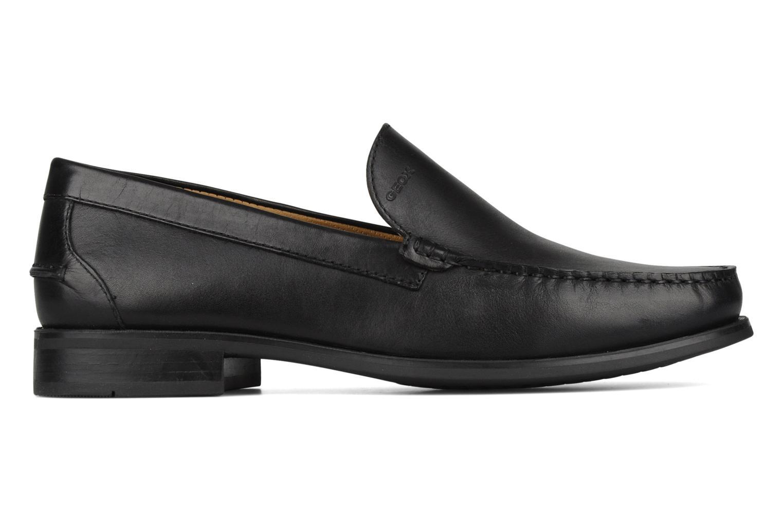 Loafers Geox U dario b Black back view