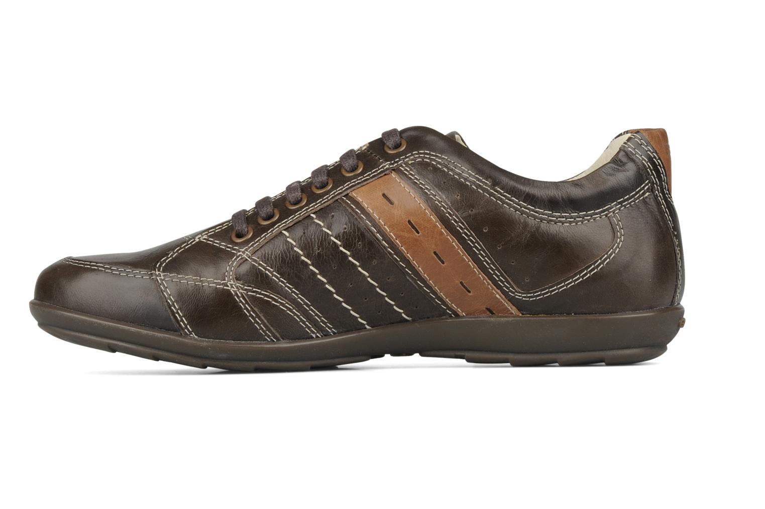 Trainers Geox U icona a Brown front view