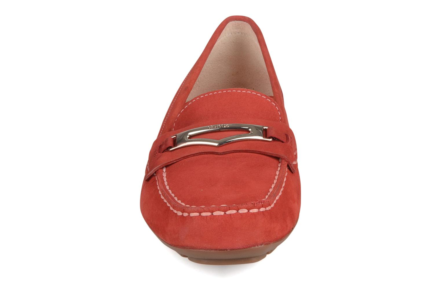 Loafers Geox D grin a Red model view