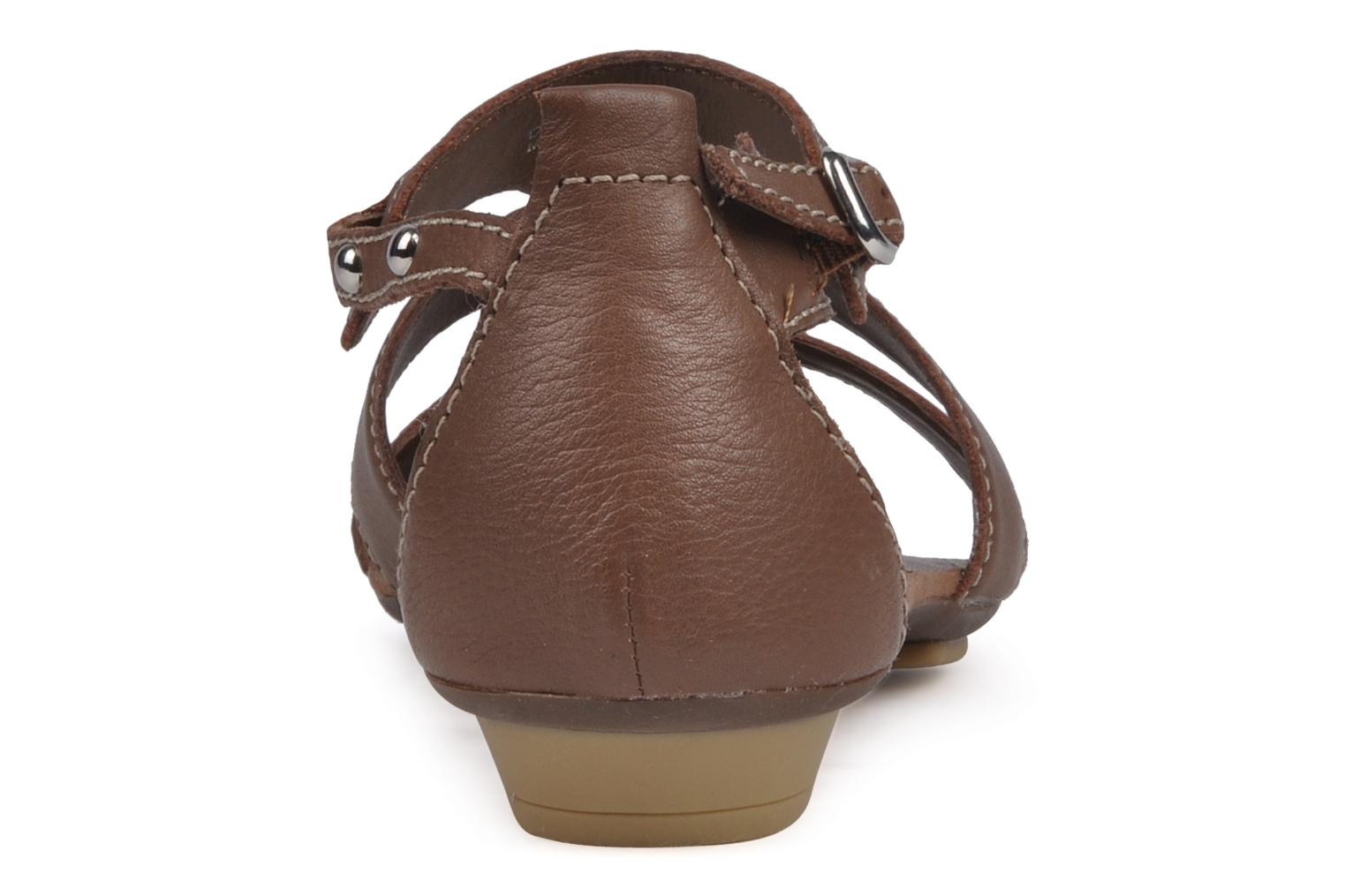 Sandals Geox D felisa b Brown view from the right