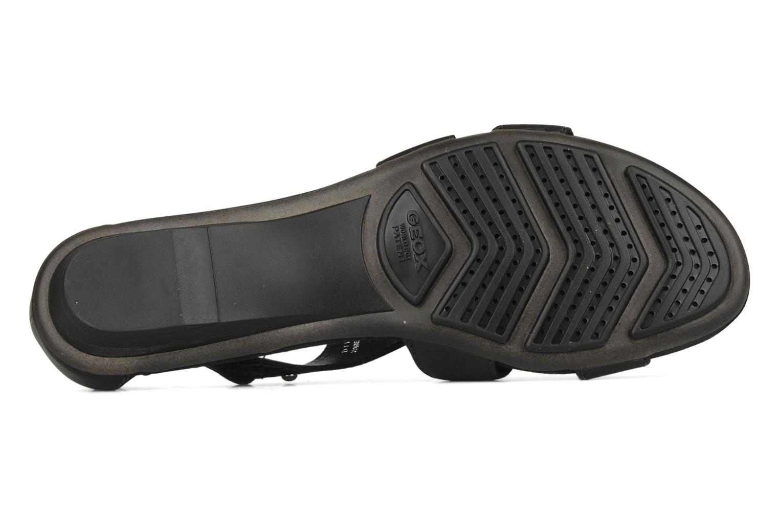 Sandals Geox D felisa b Black view from above
