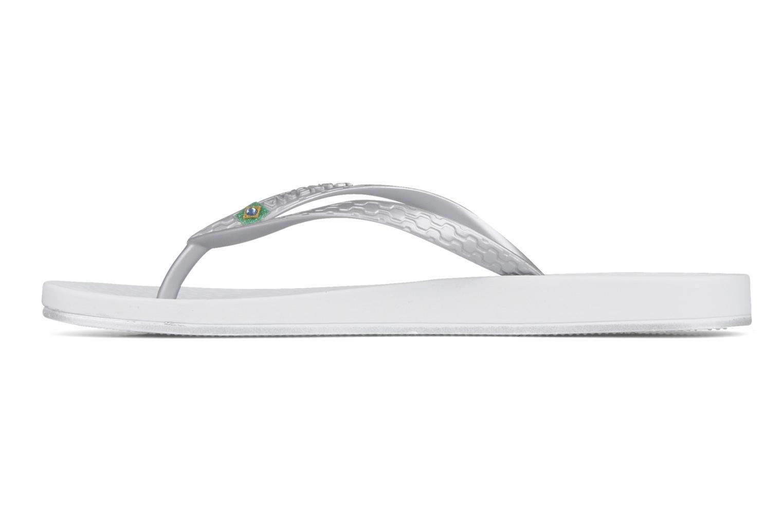 Flip flops Ipanema Anatomic brilliant iii f. White front view