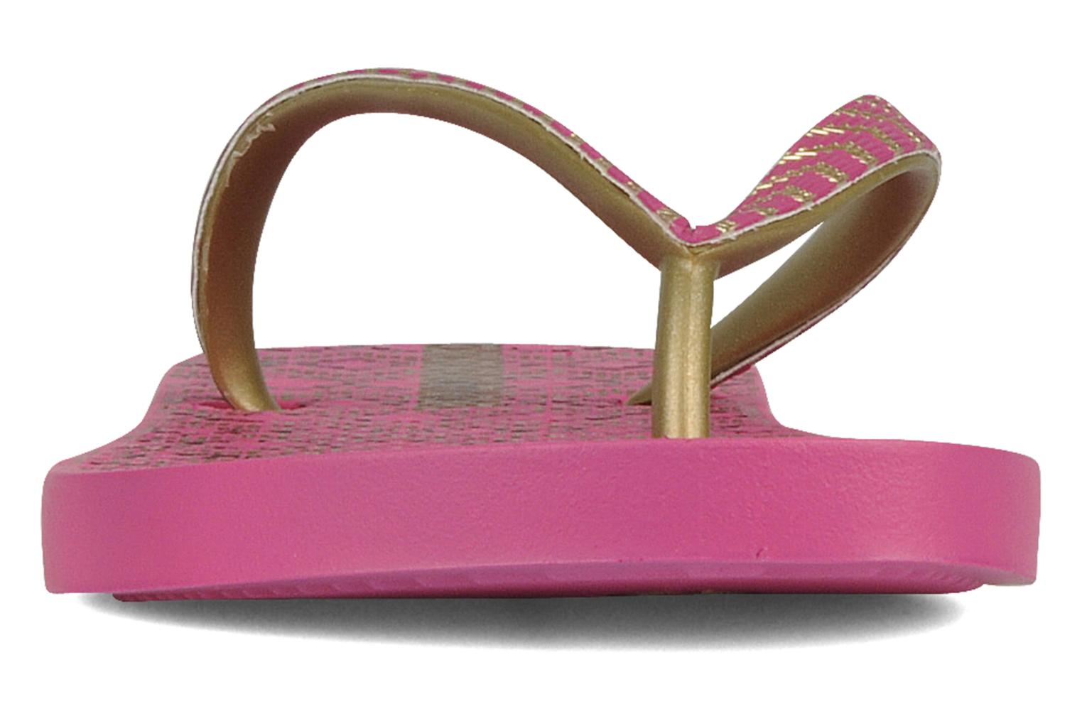 Tongs Ipanema Classic trends iii f Rose vue portées chaussures