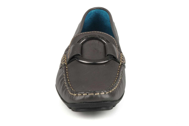 Mocassins JB MARTIN Vanessa Gris vue portées chaussures