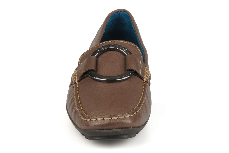 Mocassins JB MARTIN Vanessa Beige vue portées chaussures