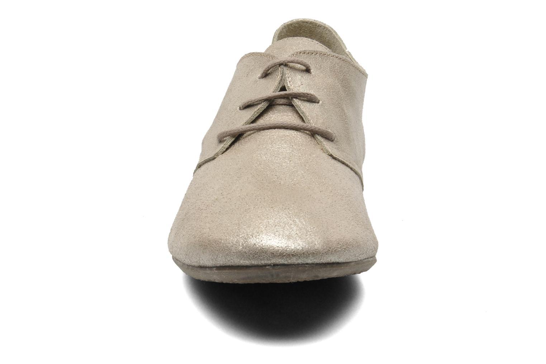 Snörade skor Jonak Dacklo Bronze och Guld bild av skorna på