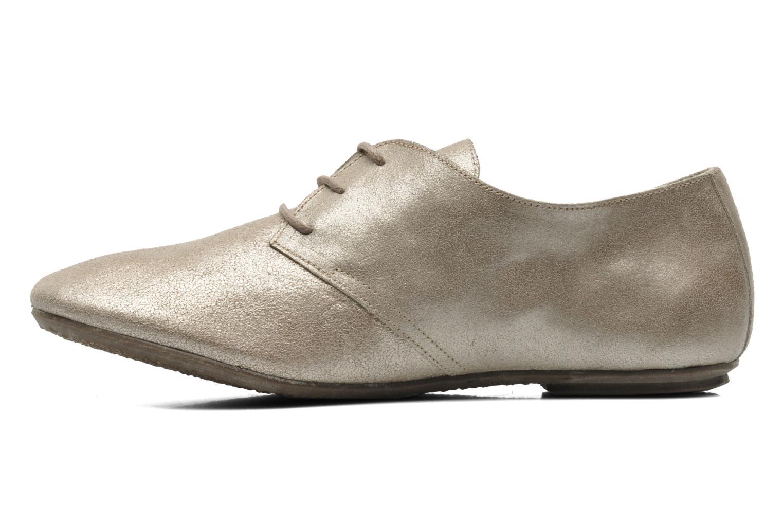 Zapatos con cordones Jonak Dacklo Oro y bronce vista de frente