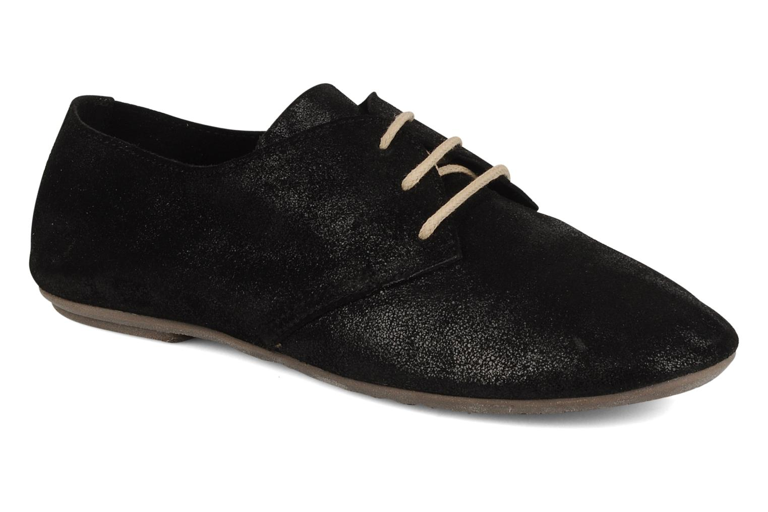 Lace-up shoes Jonak Dacklo Black detailed view/ Pair view