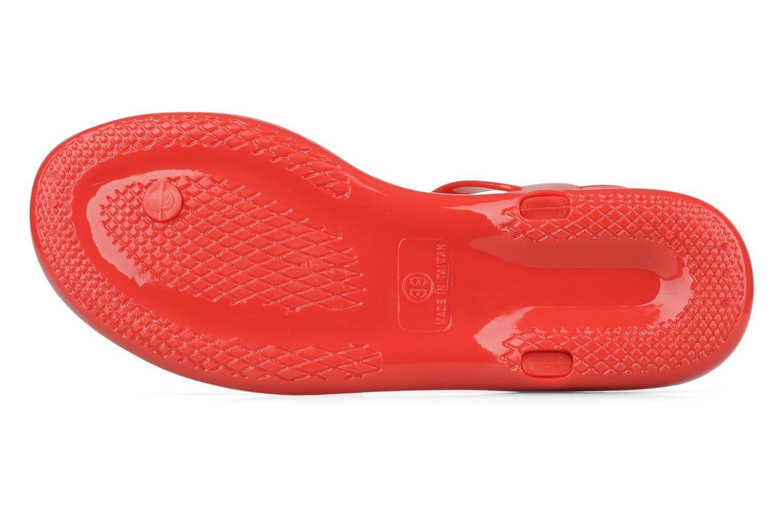 Sandales et nu-pieds Carvela Kink Rouge vue haut