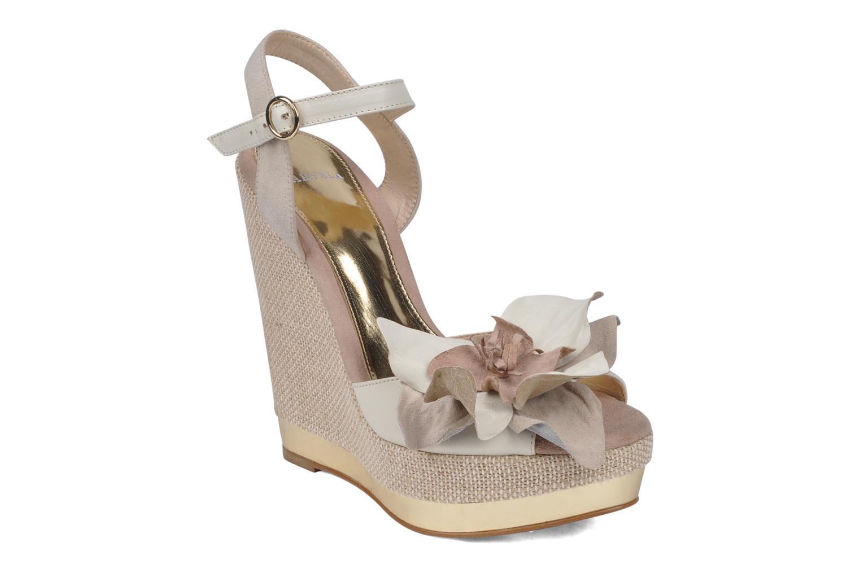 Sandales et nu-pieds Carvela Kuchina Blanc vue détail/paire