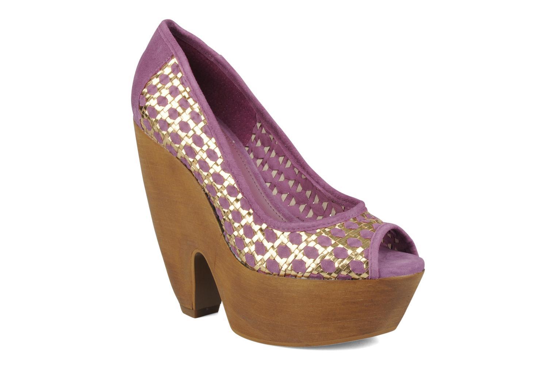 Escarpins Carvela Angle Violet vue détail/paire