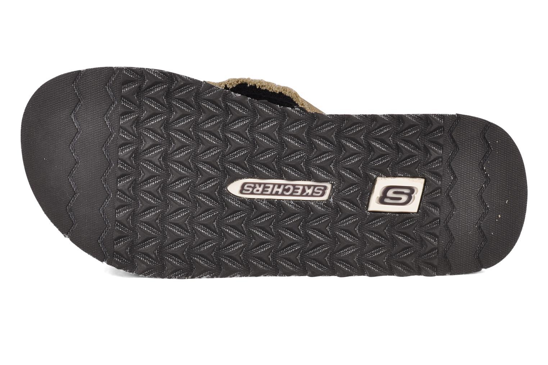 Slippers Skechers Fray 60421 Bruin boven
