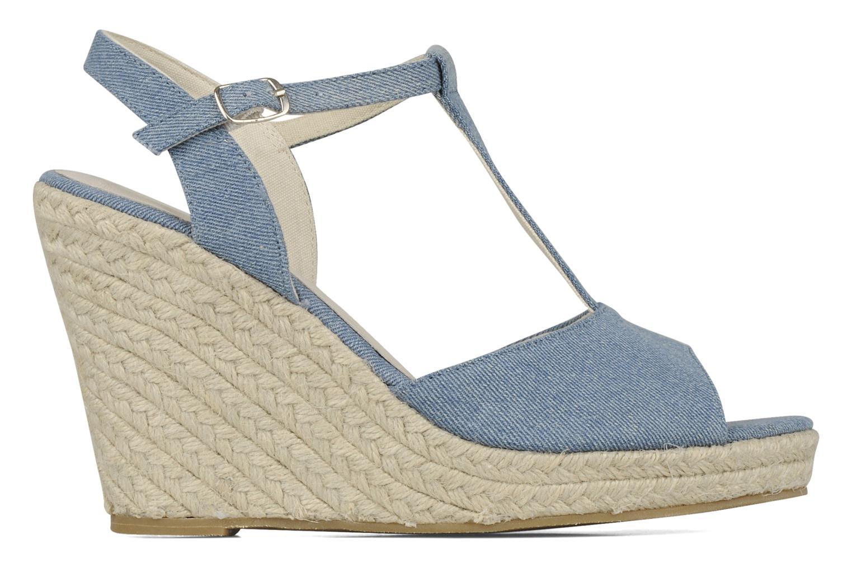 Sandales et nu-pieds Georgia Rose Uly Bleu vue derrière