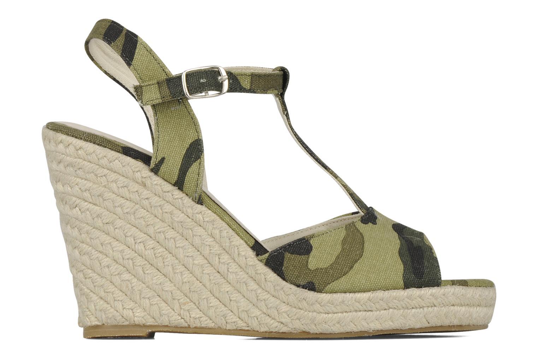 Sandali e scarpe aperte Georgia Rose Uly Verde immagine posteriore