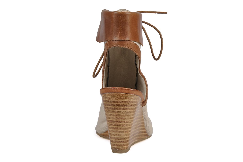 Bottines et boots Georgia Rose Calisto Beige vue droite