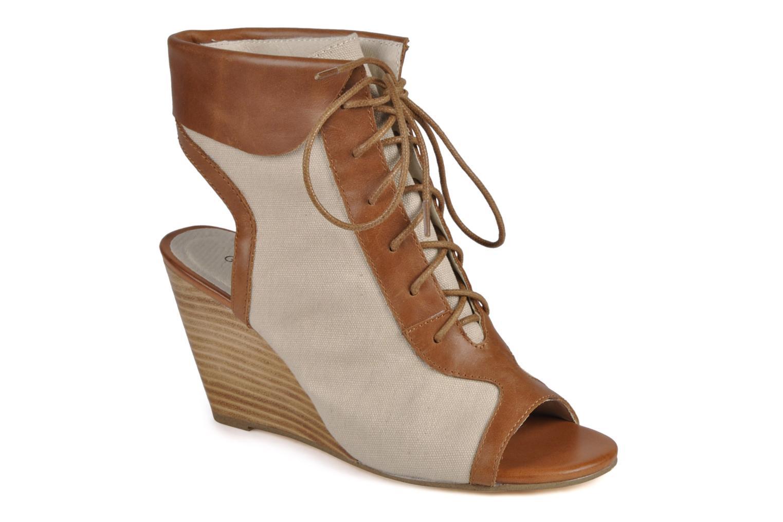 Bottines et boots Georgia Rose Calisto Beige vue détail/paire