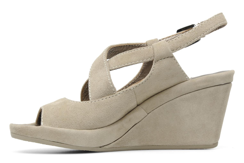 Sandales et nu-pieds Rosemetal Laney Beige vue face