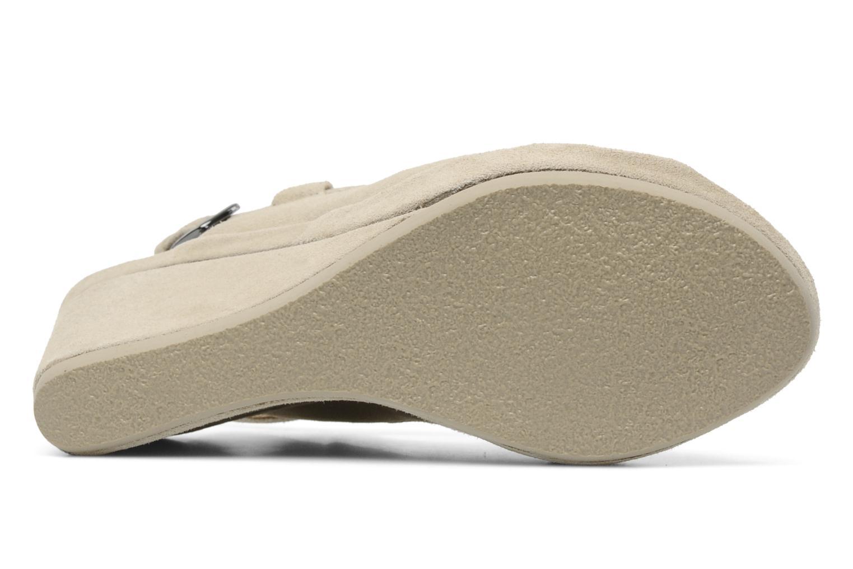 Sandales et nu-pieds Rosemetal Laney Beige vue haut