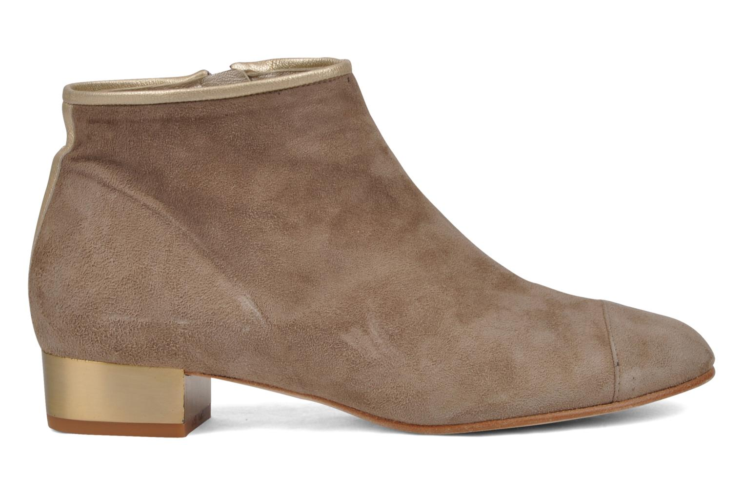 Ankle boots Mellow Yellow Jane Beige back view