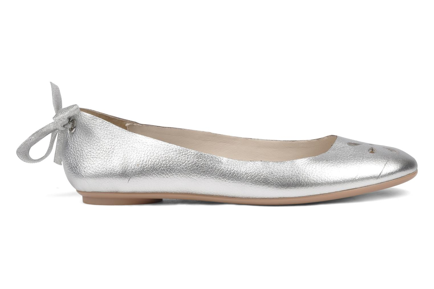 Ballet pumps Mellow Yellow Junior Silver back view