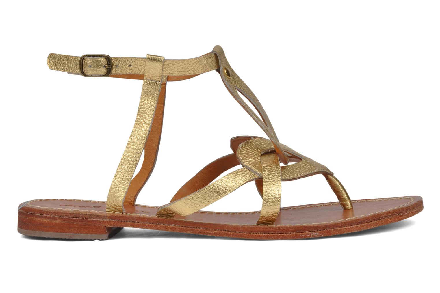 Sandals Mellow Yellow Joke Bronze and Gold back view