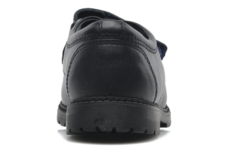 Zapatos con velcro Start Rite Will Azul vista lateral derecha