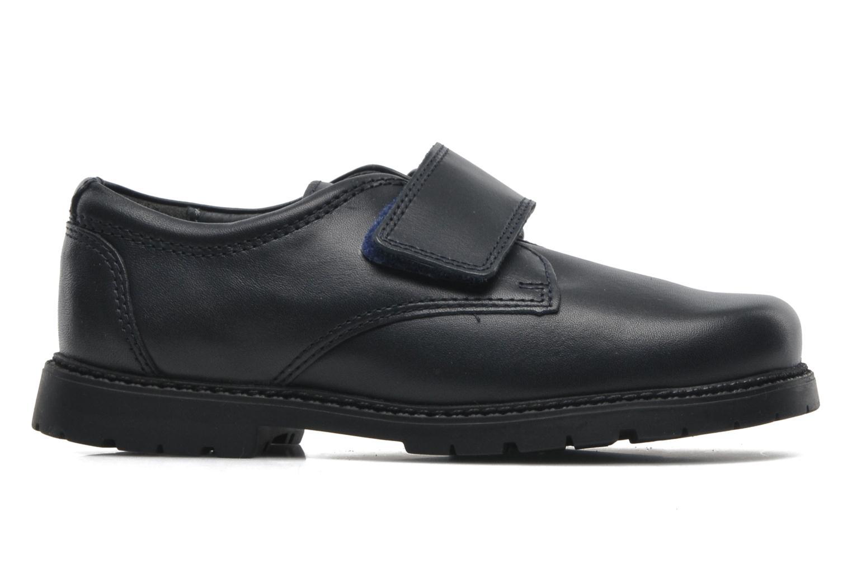 Zapatos con velcro Start Rite Will Azul vistra trasera