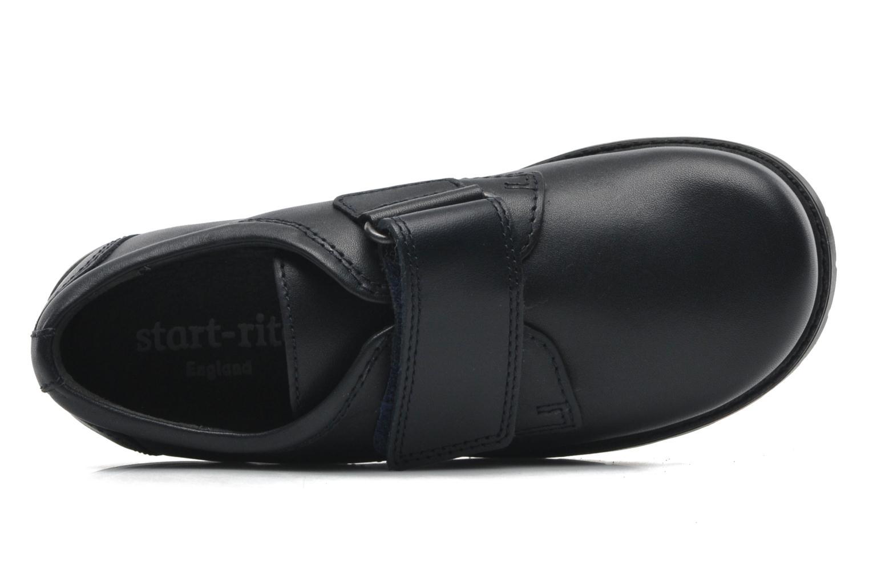 Zapatos con velcro Start Rite Will Azul vista lateral izquierda