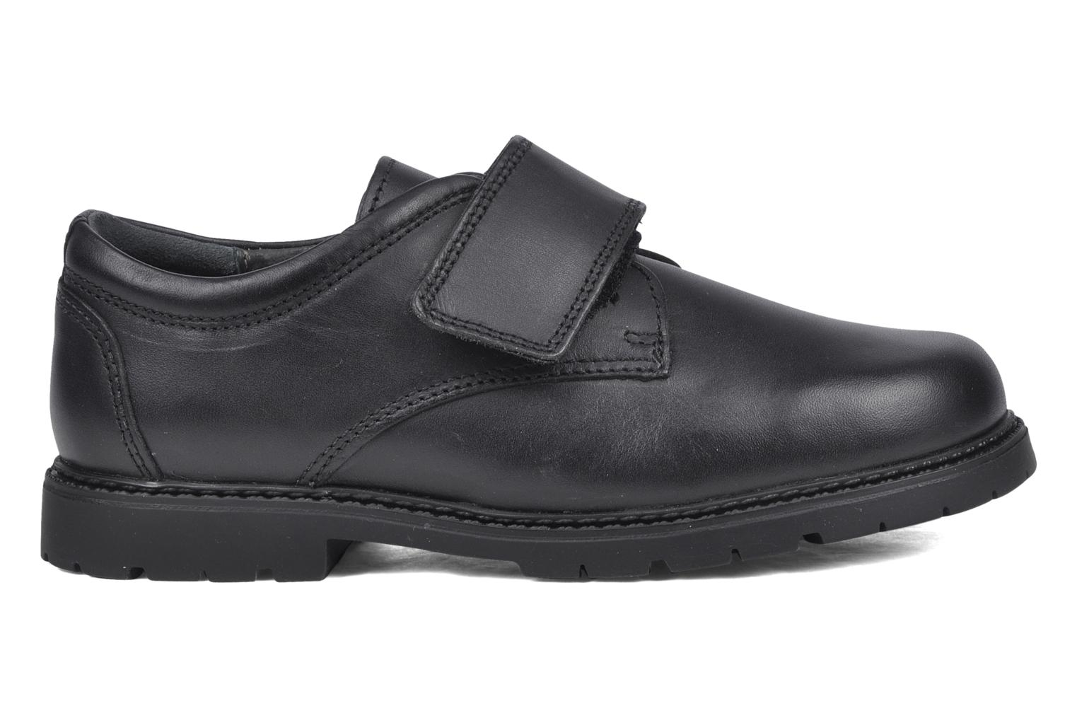 Velcro shoes Start Rite Will Black back view