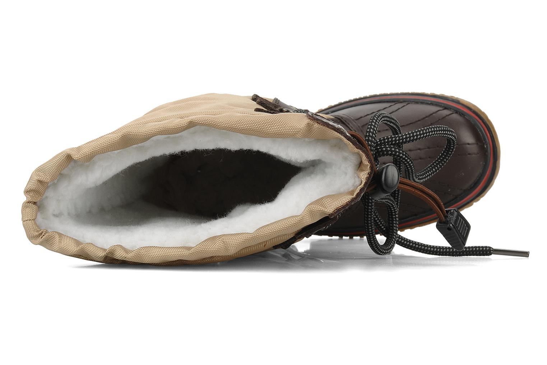 Chaussures de sport Pajar Grip Beige vue gauche