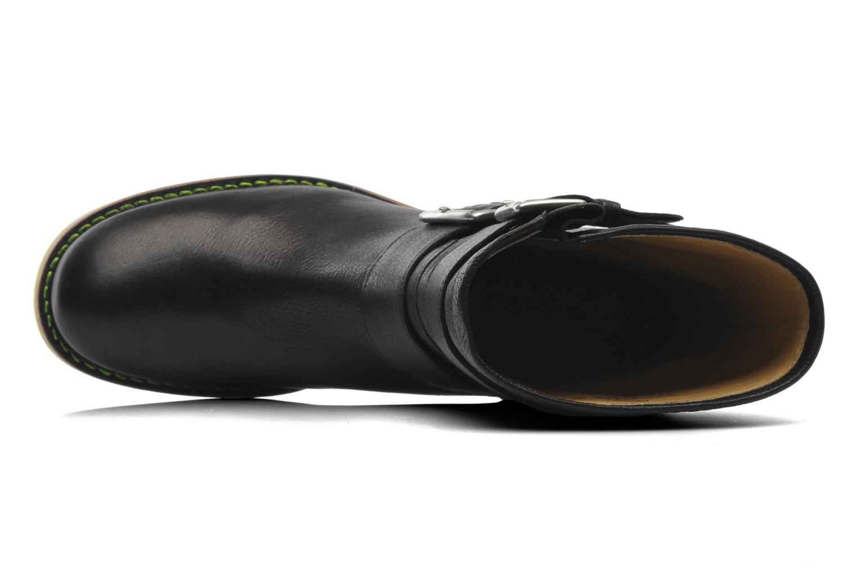 Bottines et boots Free Lance Biker 4 Mini Strap Noir vue gauche