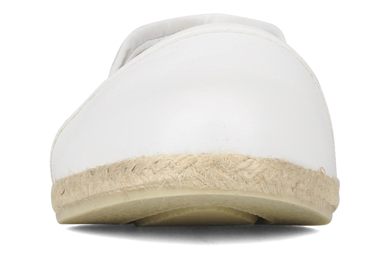 Espadrilles Zespà Cordoba Blanc vue portées chaussures