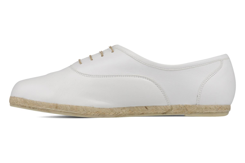 Chaussures à lacets Zespà Salhia Blanc vue face