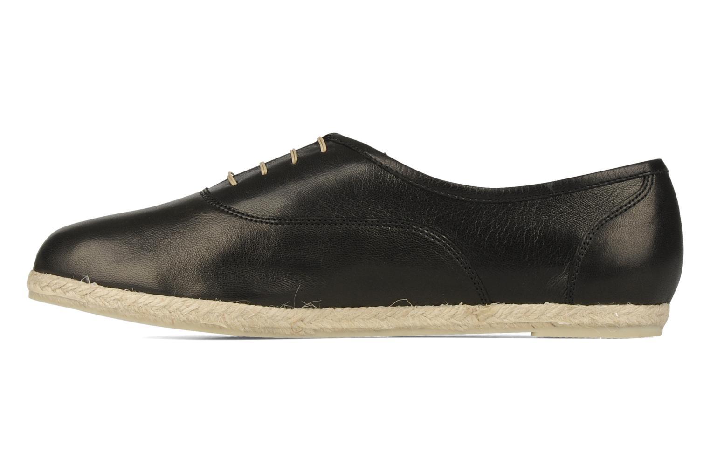 Lace-up shoes Zespà Salhia Black front view