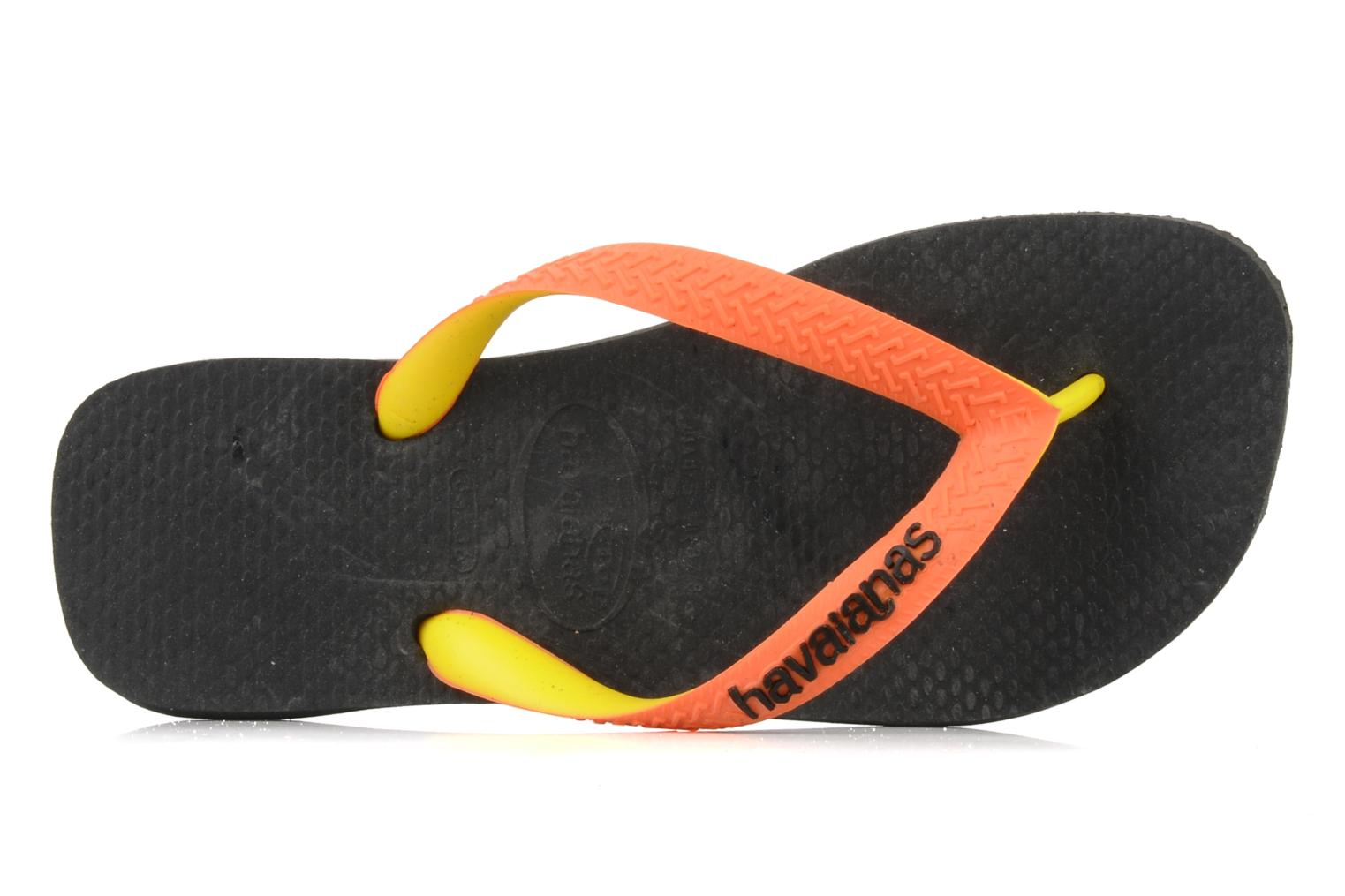 Flip flops Havaianas Top mix f Black view from the left