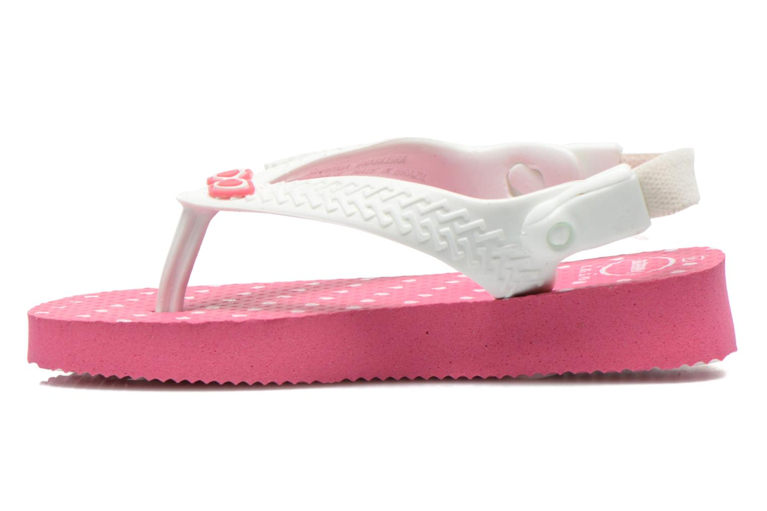 Tongs Havaianas Baby chic Rose vue face