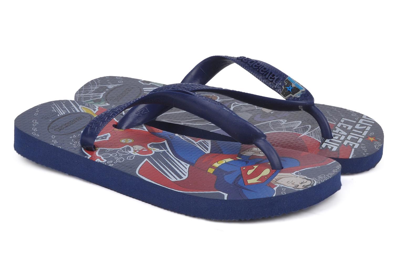 Slippers Havaianas Kids heroes Blauw 3/4'