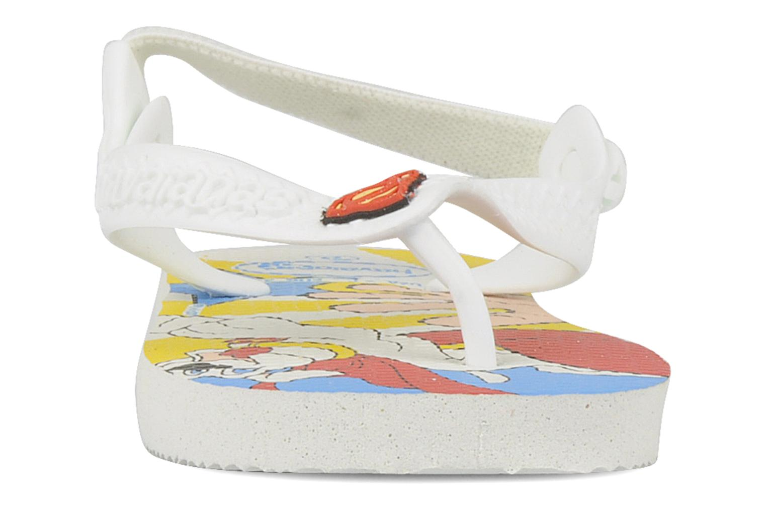 Tongs Havaianas Baby Heroes Multicolore vue portées chaussures