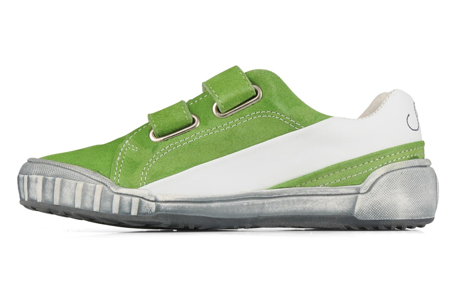 Trainers Naturino Mistral Green front view