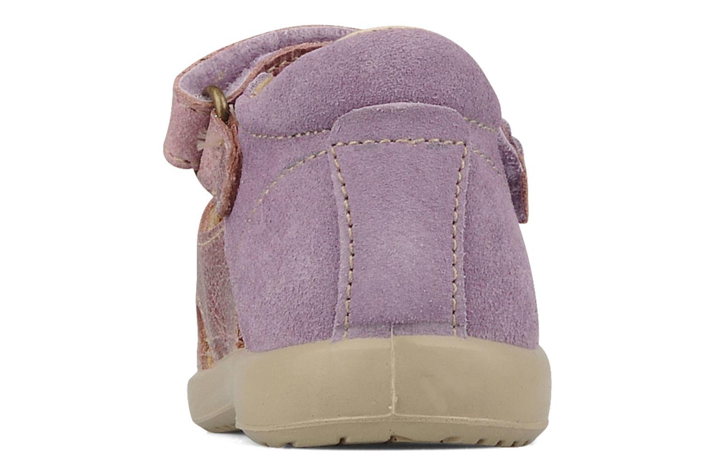 Sandali e scarpe aperte Naturino Karine Viola immagine destra