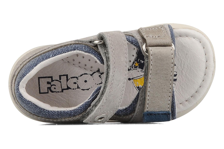 Sandali e scarpe aperte Naturino Joey Grigio immagine sinistra