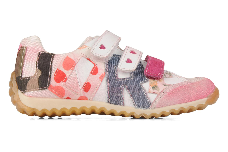 Sneakers Naturino Meiji Rosa immagine posteriore