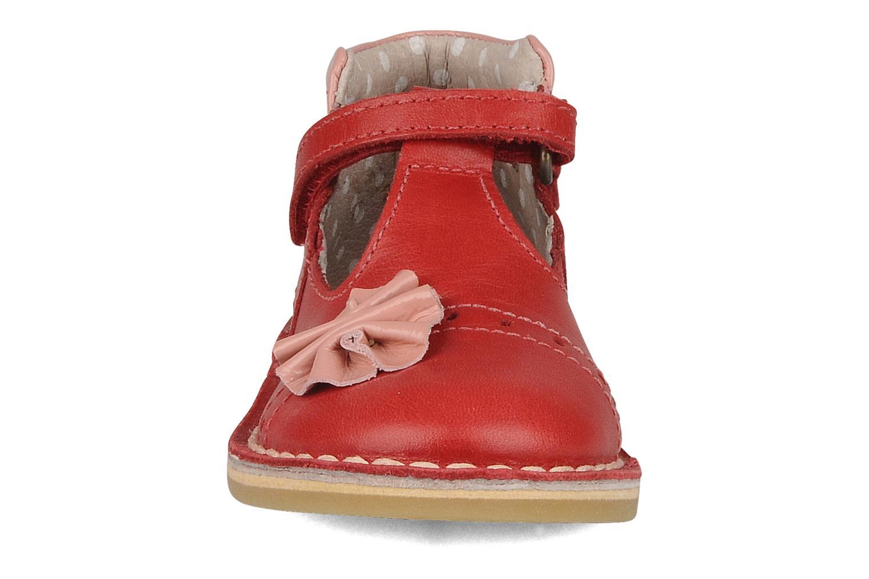 Stiefeletten & Boots Kickers Connie rot schuhe getragen