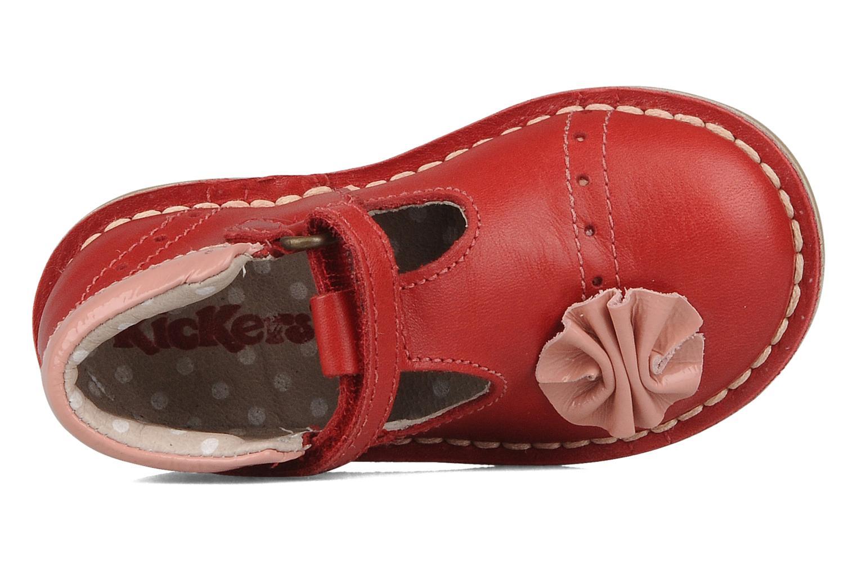 Stiefeletten & Boots Kickers Connie rot ansicht von links